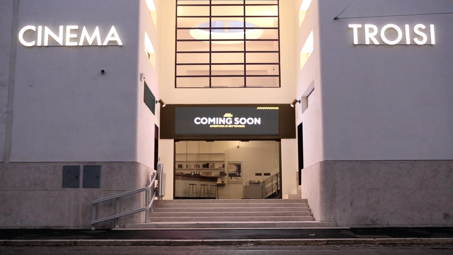 Apertura Cinema Troisi a Roma