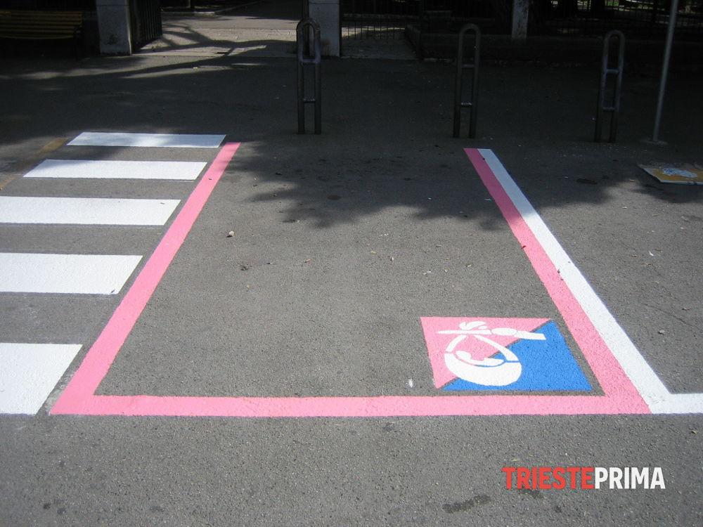 Gli stalli rosa e il nuovo codice della strada