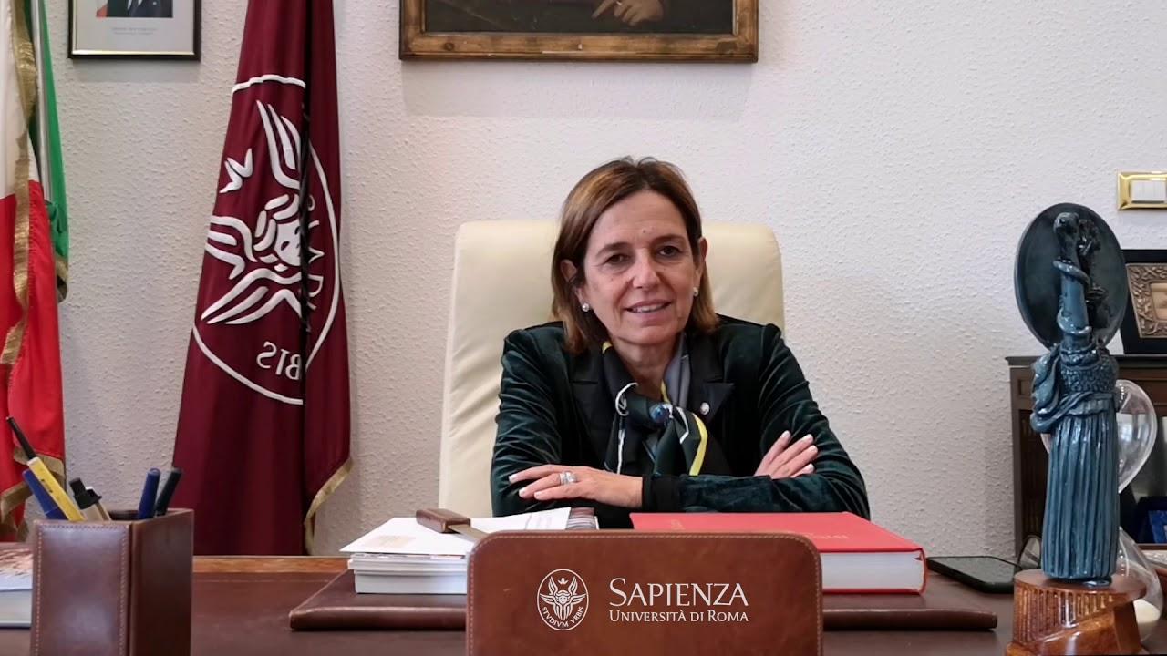 Antonella Polimeni Rettrice Università La Sapienza
