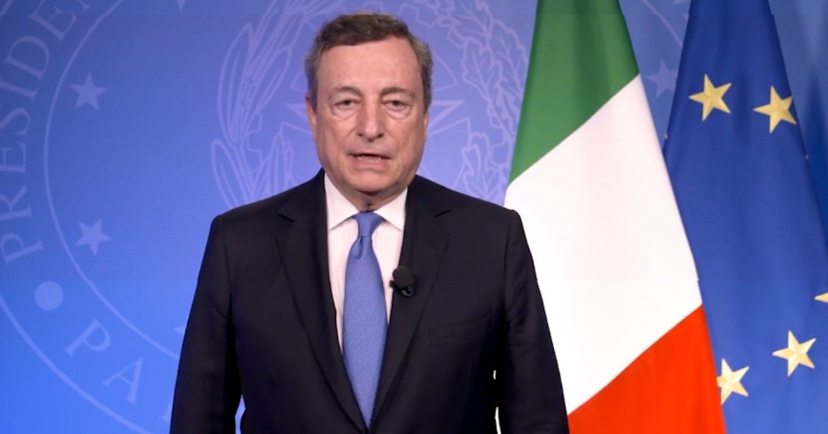 Mario Draghi avanti col Green Pass