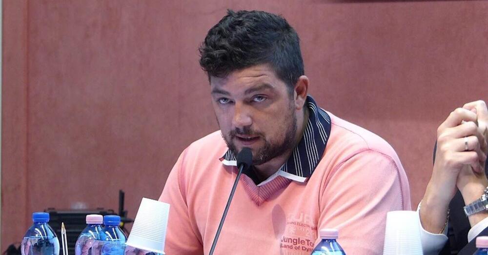 Stefano Puzzer Leader no green pass porto di Trieste